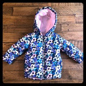 Other - Gymboree Floral Winter Puffer Coat (12-24 months)